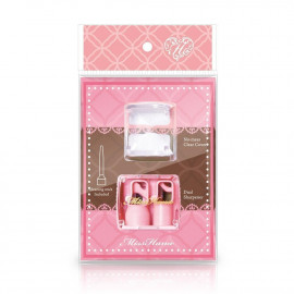 image of Miss Hana 花娜小姐 專業智慧雙孔削筆器 眼線筆筆刨  Miss Hana No-mess Clear Cover/Cleaning Stick Icluded/Dual Sharpener