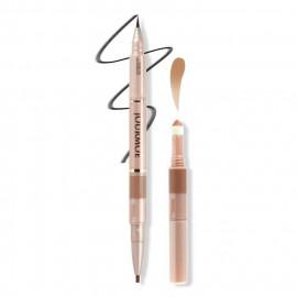 image of JOURMOE 3inONE眼彩筆(眼線液0.4ml+眼影棒0.3g+眼線膠筆0.1g) 03-自然裸妝  JOURMOE 3inONE (Liquid Eyeliner + Pencil Eyeliner + Eye Shadow Powder) 03 Natural