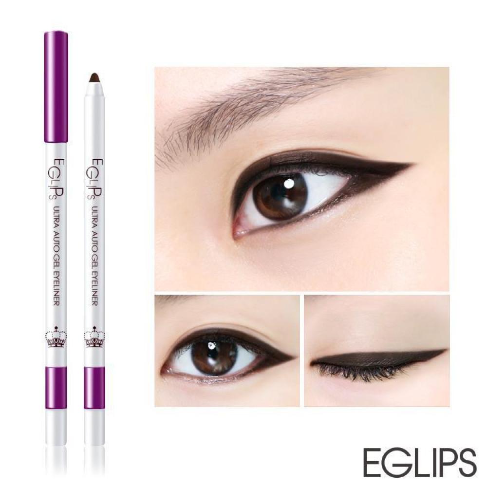 韓國 Eglips 皇后系列 持久防水旋轉眼線膠筆 0.5g #.01 I m Queen   Korea Eglips Ultra Auto Gel Eyeliner The Queen 0.5g #.01 I m Queen