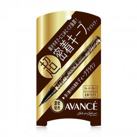 image of 日本 AVANCE 長效不暈染防水速乾眼線液 深咖色   Japan AVANCE Liquid Eyeliner #Dark Brown