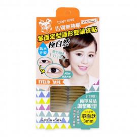 image of E‧Heart 伊心 單面定型隱形雙眼皮貼(膚色132枚)  E‧Heart  Long Lasting Invisible Double Eye Lid Sticker - Deer Eyes 132 pcs