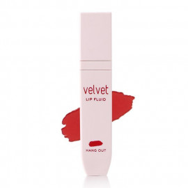 image of 韓國 MISSHA 天鵝絨唇彩 4.5ml RD02 黛安娜  Korea Velvet Lip Fluid 4.5ml #RD02 HANG OUT
