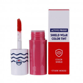 image of 韓國 ETUDE HOUSE 防汗絲絨保濕唇彩 PK001   Korea ETUDE HOUSE Active Proof Shield Wear Color Tint # PK001
