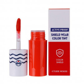 image of 韓國 ETUDE HOUSE 防汗絲絨保濕唇彩 OR201   Korea ETUDE HOUSE Active Proof Shield Wear Color Tint  #OR201