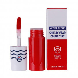image of 韓國 ETUDE HOUSE 防汗絲絨保濕唇彩 RD301   Korea ETUDE HOUSE Active Proof Shield Wear Color Tint #RD301