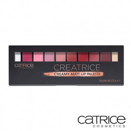 image of 德國 Catrice 霧面10色唇彩盤   Germany Catrice Cosmetics Creamy Matt Lip Palette