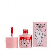 image of 韓國 the saem x 愛跳舞的兔子聯名 油漆桶唇彩 03 莎橙6.5ml   Korea the saem x Over Action Little Rabbit Lip Paint 6.5ml #03 Windsor Orange