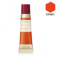 image of INTEGRATE 金緻光柔霧唇頰彩 7g OR481  INTEGRATE Silky Matt Lip Tint Stain and Cheek Blush Color 7g #OR481