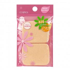 image of 台灣 COSMOS A20 兩用粉餅海綿 2入   Taiwan COSMOS Powder Sponge Puff #A20 (2 Pcs)