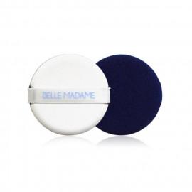 image of Belle Madame 貝麗瑪丹 BB/CC霜專用氣墊粉撲/藍色(2入)   Belle Madame   BB/CC Air Puff # Blue Color (2 Pcs)
