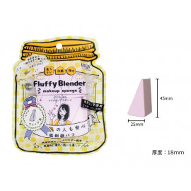 image of Belle Madame 貝麗瑪丹 棉花糖海綿 三角形 / 8入   Belle Madame Fluffy Blender Makeup Sponge # Triangle (8 Pcs)