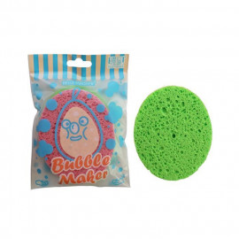 image of Belle Madame 貝麗瑪丹 泡泡洗臉海綿/橢圓(2入) 顏色隨機出貨  Belle Madame Bubble Maker Facial Cleanser Sponge # Oval Shape (2 Pcs)