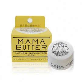 image of 日本 MAMA BUTTER 100%乳木果油滋潤霜 25g   Japan MAMA BUTTER 100% Natural Shea Butter 25g