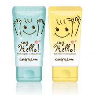 image of Candy Love Say Hello! 順理毛髮乳霜 (揮手霜) 60ml+水亮亮舒緩嫩白霜 60ml   Candy Love Say Hello! Body Clear Exfoliating Cream 60ml + Whitening Skin Soothing Cream 60ml