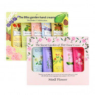 image of 韓國 Medi Flower 護手霜禮盒 50gX5入 兩款可選    Korea Medi Flower  Hand Cream Gift Box  50gX5