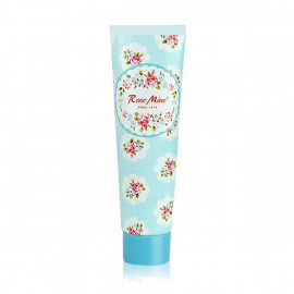 image of 韓國 EVAS 玫瑰香水護手霜 60mL #.寶貝嫩香(天藍)   Korea EVAS Rose Mine Perfumed Hand Cream 60mL #. Petit Baby