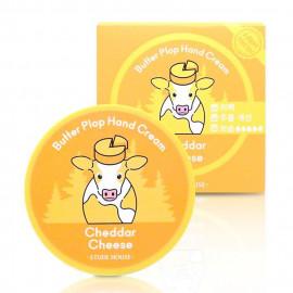 image of 韓國 ETUDE HOUSE 奶油護手霜 25ml 4巧達起司-柑橘麝香   Korea ETUDE HOUSE  Butter Plop Hand Cream 25ml #4 Cheddar Cheese