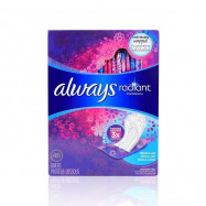 image of ALWAYS Radiant 3倍吸收超薄護墊 15.5公分 48入   Always Radiant Daily Liners absorb 3X more 15.5cm 48Pcs