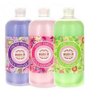 image of 歐洲 Body-X 沐浴凝膠 1000ml   Europe Body-X Fresh Bath & Shower Gel 1000ml