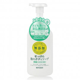 image of 日本 MIYOSHI 無添加泡沫沐浴乳 500mL    Japan MIYOSHI Additive Free Soap 500mL