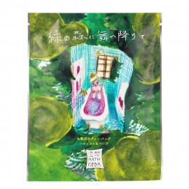 image of CHARLEY 舞降綠林入浴劑 30g     CHARLEY  Imagine Bath Room Bath Salt & Herbs Kit  #Alighting on the Green Forest 30g