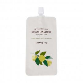 image of 韓國 innisfree 香水沐浴乳隨身包 20mL 檸檬橙香    Korea innisfree My Perfumed Body Body Cleanser 20mL #Green Tangerine