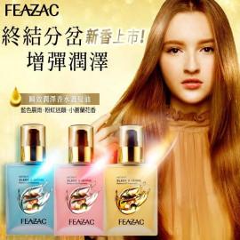 image of FEAZAC 舒科 瞬效潤澤香水護髮油90ml 乾溼兩用/免沖洗   FEAZAC  Instant Sleek & Shine Perfume Oil Treatment 90ml