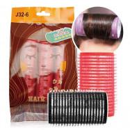 image of Belle Madame 貝麗瑪丹 J32-6 百變造型髮卷 6入/包(32m/m)   Belle Madame  J32-6  Hair Curler  6 Pcs/Pack (32m/m)