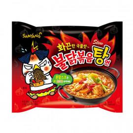 image of 三養火辣雞肉麵湯麵145g   韓國 三養 辣雞