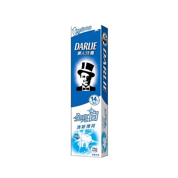 image of 黑人全亮白牙膏140g #清新薄荷款 Black Full Bright White Toothpaste 140g # FRESH MINT