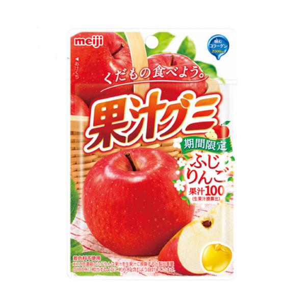 image of 明治果汁QQ軟糖(富士蘋果)47g MEIJI Meiji Juice QQ Fudge (Fuji Apple) 47g MEIJI
