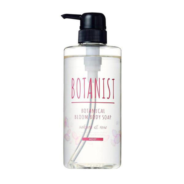 image of BOTANIST 植物性花開沐浴乳490ml(滋潤型) 日本  BOTANIST Botanical Flower Shower Gel 490ml (Moisturizing) Japan