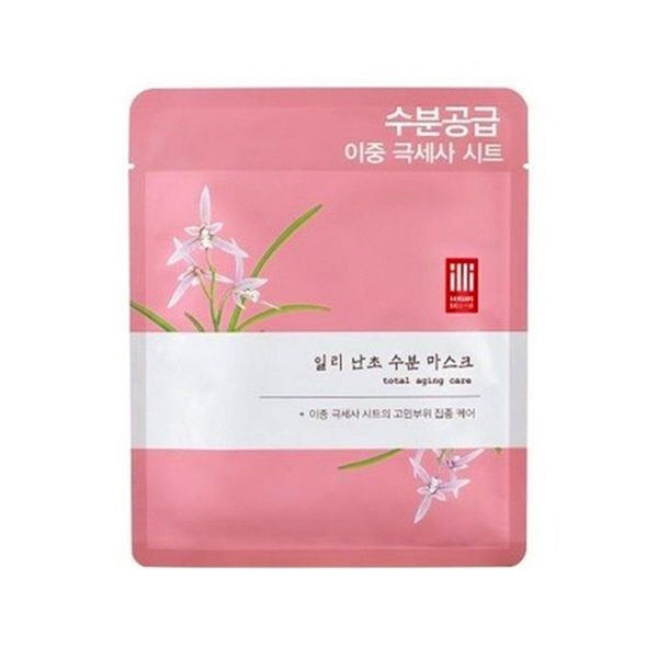 image of 韓國一理潤蘭花補水面膜 韓國  Korea Yirlirun Orchid Moisturizing Mask Korea