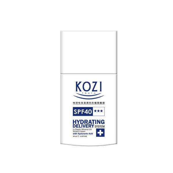 image of KOZI蔻姿物理性保濕潤色防曬隔離霜30ml  KOZI physical moisturizing sunscreen cream 30ml