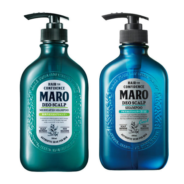 image of MARO男士清新 風行控油洗髮精(2款任選)  MARO Men's Fresh and Clean Oil Control Shampoo (2 optional)