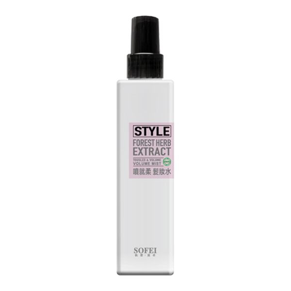 image of 型色家噴就柔髮妝水180ml SOFEI 舒妃  Color home spray on soft hair makeup water 180ml SOFEI