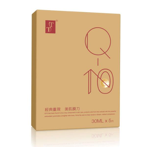 image of TT波特嫚 經典Q10彈力緊緻面膜5片入(盒)  TT Classic Q10 Elastic Firming Mask 5 pieces (box)