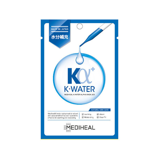 image of MEDIHEAL K-Water Alpha活力補水舒緩維他命面膜 韓國 美迪惠爾  MEDIHEAL K-Water Alpha Vitality Soothing Vitamin Mask Korea Hydew