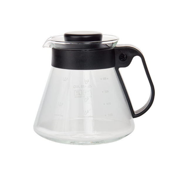 image of 慢拾光/耐熱玻璃壺/600ml 咖啡 玻璃壺  Slow light / heat resistant glass pot / 600ml coffee glass pot