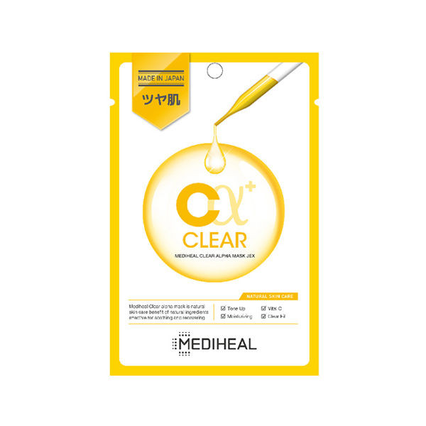 image of MEDIHEAL C Alpha 潤澤修復提亮維他命面膜 韓國 美迪惠爾  MEDIHEAL C Alpha Moisturizing Repair Brightening Vitamin Mask Korea Meditech