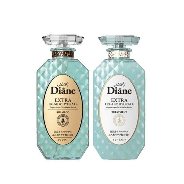 image of 黛絲恩 完美淨化極潤修護洗髮精/護髮素450ml(2款任選) Moist Diane 日本  Perfect Purifying Hair Treatment Shampoo/ Conditioner 450ml (2 optional) Moist Diane Japan