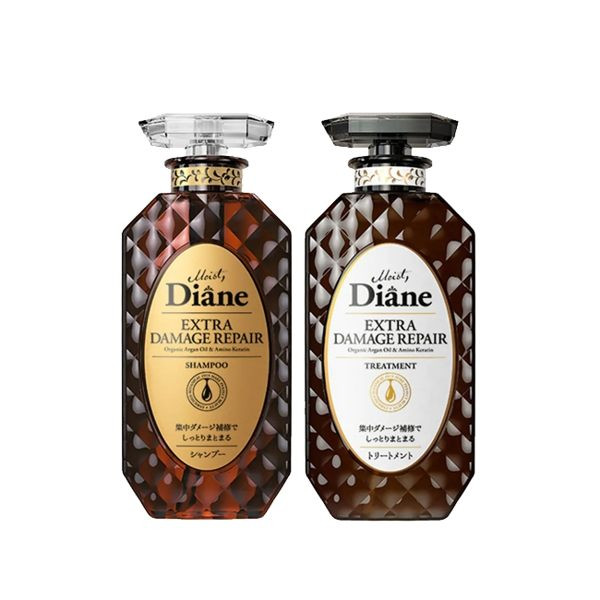 image of 黛絲恩 完美修補極潤修護洗髮精/護髮素450ml(2款任選) Moist Diane 日本  Perfect Repair Extreme Repair Shampoo/ Conditioner 450ml (2 optional) Moist Diane Japan