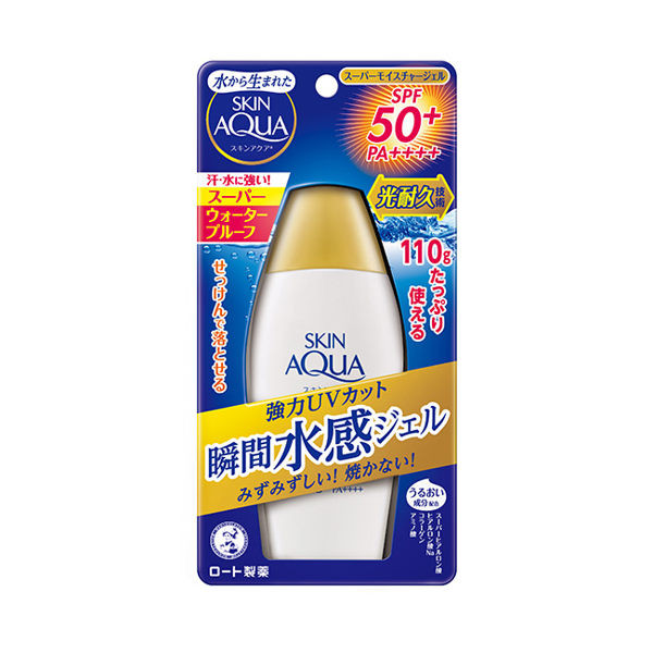 image of 曼秀雷敦水潤肌超保濕水感防曬露 110g  AQUA Moisturizing Super Moisturizing Sunscreen Lotion 110g