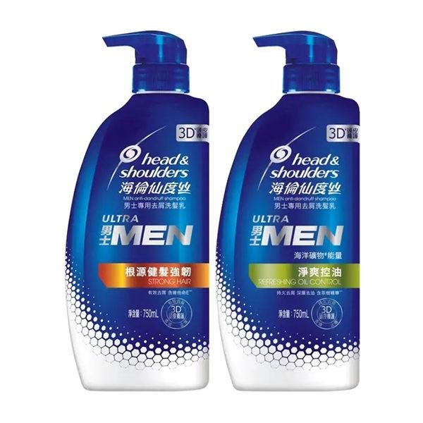 image of 海倫仙度絲男士去屑洗髮乳750ml(2款任選) 男士 head & shoulder's Men's Anti-dandruff Shampoo 750ml (2 optional) Men