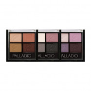 image of PALLADIO慾望X四色眼影(3色可選) PALLADIO 獨家 PALLADIO Desire X Four-Color Eyeshadow (3 colors optional) PALLADIO Exclusive