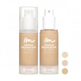 image of I'M MEME 我愛零妝感無瑕粉底液30ml (3色任選) I'M MEME zero makeup flawless liquid foundation 30ml (3 colors optional)