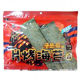 image of 良澔 片烤海苔 椒鹽口味36g ( Liangzhu sliced seaweed salt and pepper flavor 36g )