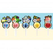 image of 美味星棒棒糖 玩具總動員歡慶款 31g   ( Delicious Star Lollipop Toy Story Mobility 31g )