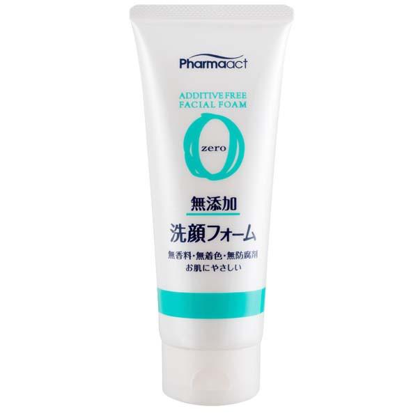 image of 【Pharmaact熊野】無添加潔顏乳 130g