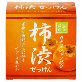 image of 【CLOVER】保濕洗顏皂-柿澀 80g  Facial cleansing bar